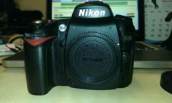Nikon DSLR D90 with Nikon 18-55mm VR (With UV Filter)