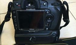 I'm selling my pre-loved Nikon D90 along with 18-105 mm