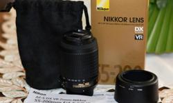 Nikon Digital Camera Nikkor Lens Kit 55-200mm f4-5.6G
