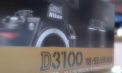 Selling a used Nikon D3100 AF-S DX NIKKOR 18-55mm VR