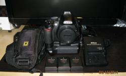 Selling Nikon D3100 Basic DSLR CHEAP! It all includes: