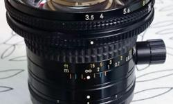 Nikon PC-NIKKOR 28mm f/3.5 28mm shift lens