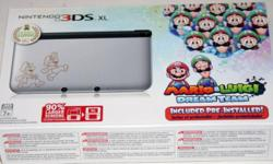 US set Brand New in Box (Sealed set) Mario 3DS XL :