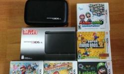Brand new condition, less than 3 months 3DS XL with