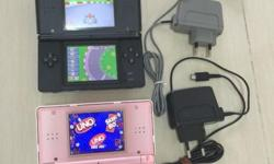 Nintendo DS for sale! Choice of either Black or Pink.