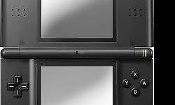 black nintendo ds lite +pouch included games -club