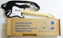 Nintendo Wii Rock Band Guitar - To be used with Wii