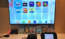 Used Nintendo Wii U. Comes with all the accessories
