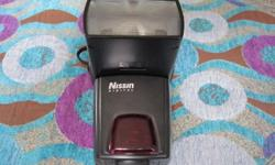Nissin digital flash for Nikon mount, full manual and