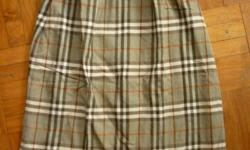 Desiger clothing on sale - Authentic Burberry skirt