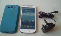 White Samsung Galaxy S3, 3G Phone is in perfect working