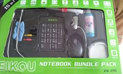 Have a BNIB notebook bundle pack (free gift from laptop