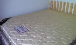 Less than 1year mattress hardly used and near new