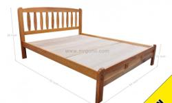 NOW! WOODEN BEDFRAME ONLY AT : $368, U.P : $448 AND