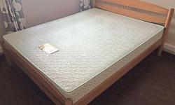 Queen Bed With or Without mattress (optional) Arrange