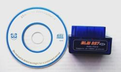 OBDII Bluetooth car reader & scanner S$20. (can scan