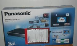 Offering Brand New PANASONIC 3D BLU RAY DISC player