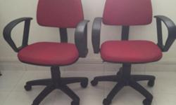 Have 2 identical chairs. Good working condition. Non