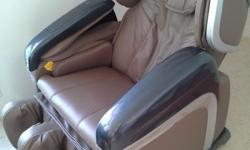 Ogava Massage Chair - hardly used, in good condition.