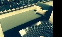 2 pieces of Ohm Outdoor Furnitire for sale 1. Sofa