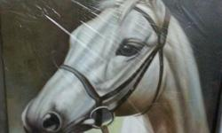 Horse series, oil on canvas. 40x50xm Hand painted.