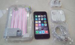 iPhone 5 32GB, Black color. Phone is in perfect working
