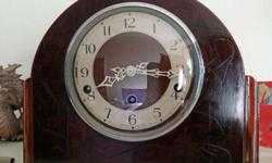 RELOCATION SALE 1940's English mantle clock Westminster
