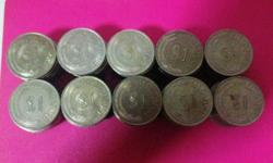 I have for sale 100 pcs of Old Singapore $1 Lion coin