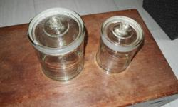 9 nos.Traditional Chinese Medicine glass container .