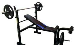 Barely used Zanfit Bench Press, moving to a different