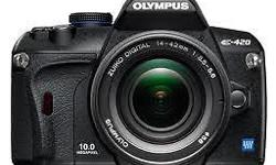 Olympus E-420 (As GOOD As NEW) + 2 free Lens Olympus