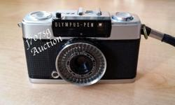 Olympus Pen EE-3 Half Frame 35mm Camera With 28mm F/3.5