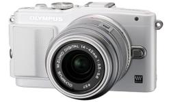 OLYMPUS Micro SLR PEN Lite E-PL6 Digital Camera White