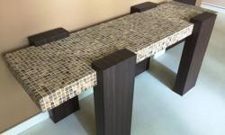 One and only custom made side table H60cmx W50cmx