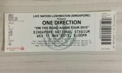 ONE DIRECTION live concert at Singapore National