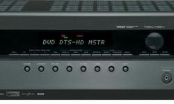 Onkyo TX - SR501 6 1 - Channel AV Receiver / Amplifier for