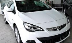Opel Astra GTC 2door White 1.4l Turbo Long term rental