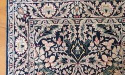 Six beautiful Oriental hand weaved carpets and rugs.