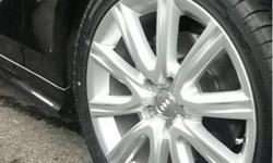"Original 18"" Audi Rims for Sale c/w 245/40R18 Tyres."
