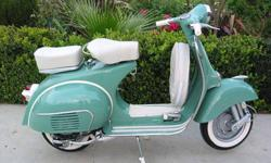 I have available my vespa 1966 vintage model, original