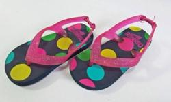 Sandals for girls. Size : S (5-6) (14cm) Color : Navy