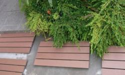 FOR AD HOC PLACEMENT IN OUTDOOR GARDEN, OR ACROSS