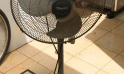 Electric Floor Fan. Great for cooling off.