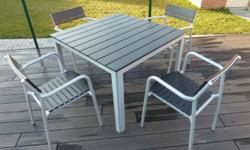 Beautiful outdoor furniture set consisting of two