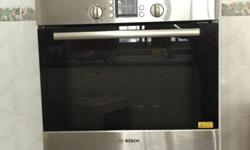 BOSCH oven for sale. Good working condition. Self