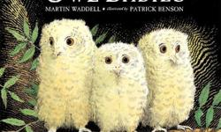 Almost new condition Three baby owls, Sarah, Percy and