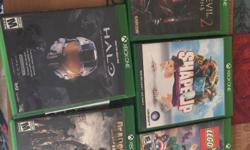 Hello, I'm selling all this Xbox One games for only