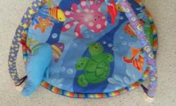 Padded Musical Baby Playmat/Gym Used for less than a