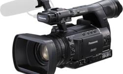 PANASONIC AG-HPX255 (3-CMOS P2 Hand-held Camcorder with