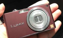 Selling my brown Lumix FX33. Never dropped and still in